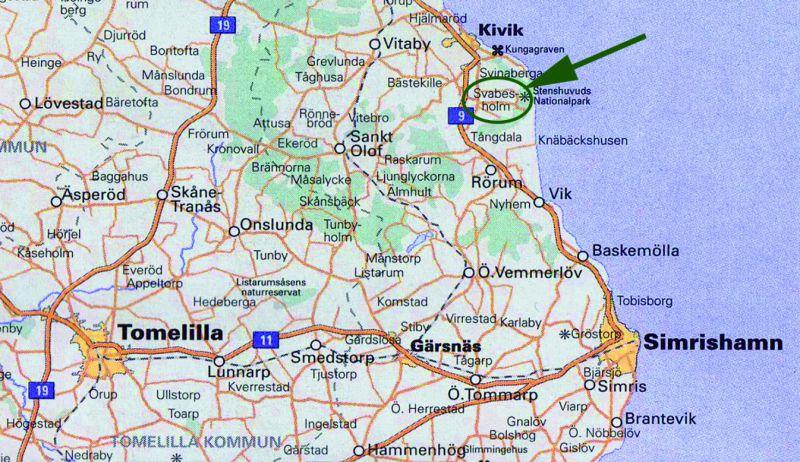 stenshuvud karta Den Engelska Trädgården på Svabesholm stenshuvud karta